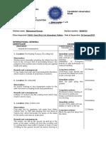 Candidates Observation Sheet 1 Us Man