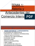Historia y Antecedentes Del Comercio Internacional