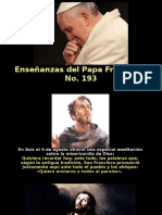 Enseñanzas del Papa Francisco No. 193.pps