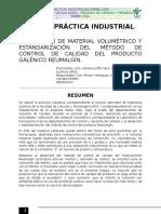 Informe de Prácticas Industriales