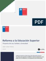 Reforma a la Educación Superior Chile