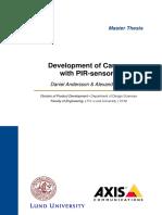 Development of Camera With PIR-Sensors
