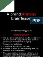 The BrandStrategy BrainTeaser