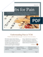 Herbs for Pain Brochure