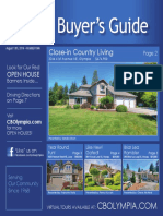 Coldwell Banker Olympia Real Estate Buyers Guide August 13th 2016