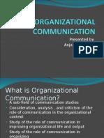 Organizational Communication process