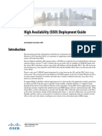 High Availability DeployementGuide