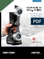 CREAFORM HandyScan3d Brochure EN 2016