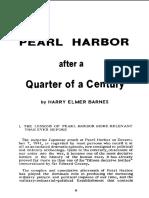 BARNES - Pearl Harbor After a Quarter of a Century