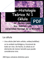 Teórico 1 - Célula 2015(2)