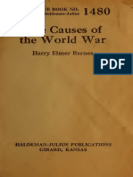 BARNES - The Causes of the World War