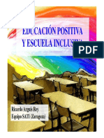 Educación Positiva y Escuela Inclusiva [Modo de Compatibilidad]