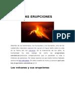 Las Erupciones