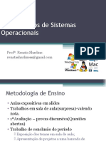 Introdução de Sistemas Operacionais