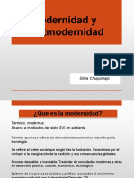 Modernidad y Post Modernidad