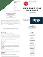 gos info sheet measure for measure