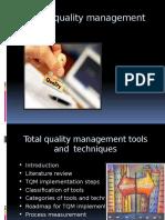 TQM Tools and Techniques