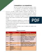 Analisis Parametrico y No Paramétrico