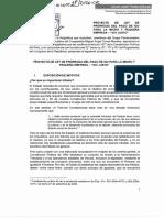 Proyecto de Ley del IGV Justo