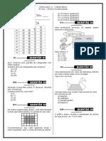 Simulado 11 (Mat. 5º Ano) - Blog Do Prof. Warles