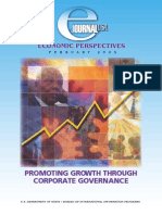 Promoting growth through corporate governance