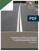 AP-T312-16 Development of PMB Binder Test Hard Binders