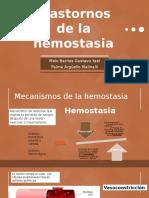 Trastornos de La Hemostasia