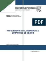 Antecedentes Del Desarollo Economico de Mexico.T