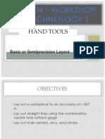 Hand Tools 1