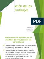 Evaluación de Los Aprendizajes PPT