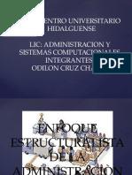 Enfoque Estructuralista de La Administraciòn