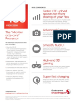 Snapdragon 430 Processor Product Brief