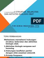 5. Hubungan Struktur, Kelarutan Dan Aktivitas Biologis Obat Ok
