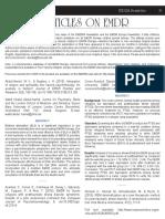 Articles on Emdr