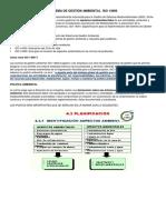 Sistema de Gestión Ambiental Iso 14000