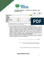 Fichas de Inscrição Individual Jets 2016