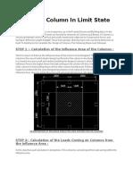 Design of Column in Limit State Method