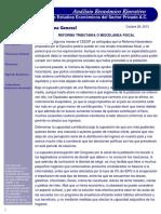 Panorama General - Reforma Tributaria o Miscelanea Fiscal