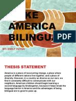 make america bilingual