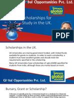 Scholarships in UK