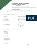 Prueba Ecuaciones lineales c-1