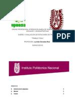 DISEÑO Y EVALUACIÓN DE ESTACIONES DE TRABAJO  (UPIICSA)