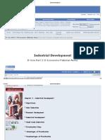 3 Industrial Development
