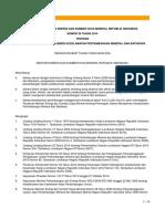 Permen ESDM No. 38 Tahun 2014 Tentang Penerapan Sistem Manajemen Keselamatan Pertambangan Minerba