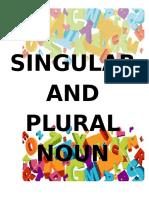 Plural and Singular Nouns (8)