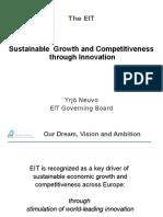 Sustainable Growth through Innovation Presentation