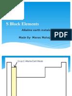 Alkaline Earth Metals 1