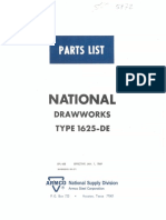 Drawwork 1625 manual
