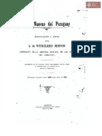 Aves nuevas del Paraguay continuación a Azara por A. Winkelried Bertoni, Asunción año 1901 Tall. Kraus