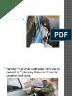 6.0 Anti Theft Protection JA505
